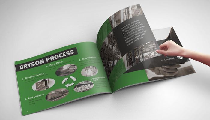 booklet company profile design